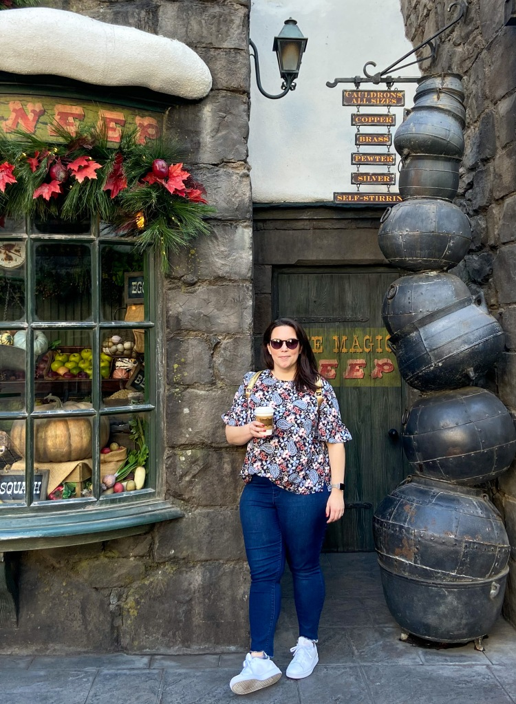 Valerie in Hogsmeade